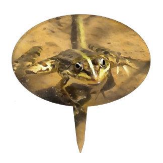 Marsh Frog Cake Topper