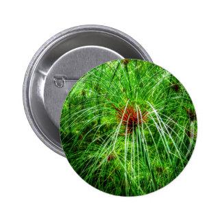 Marsh Grass 2 Inch Round Button