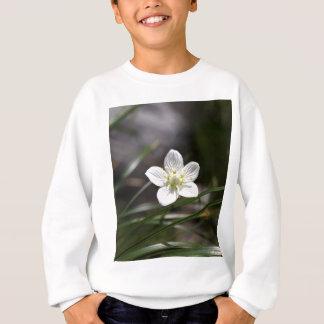 Marsh grass of Parnassus (Parnassia palustris) Sweatshirt