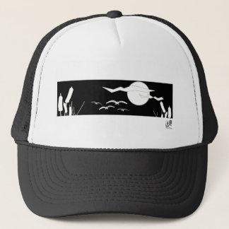 Marsh in Moonlight Trucker Hat