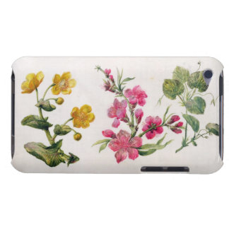 Marsh Marigold, Japonica, Violet (w/c on paper) iPod Touch Case-Mate Case