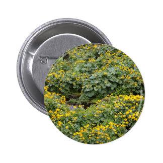 Marsh Marigolds Button