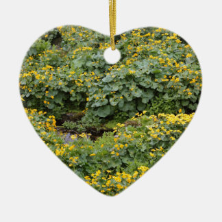 Marsh Marigolds Ceramic Ornament