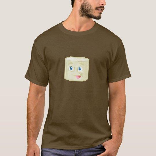 Marsh-Mellow Face Pixel Art T-Shirt