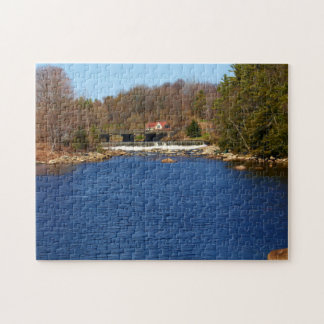 Marsh Stream Reservoir Jigsaw Puzzle