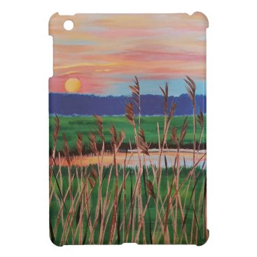 Beach Themed Marsh View Cover For The iPad Mini