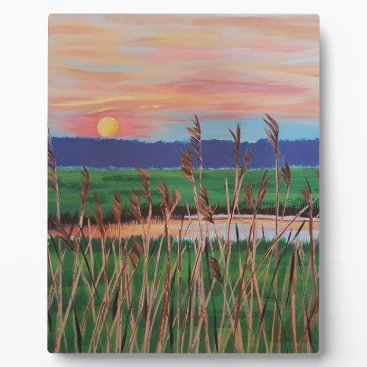Beach Themed Marsh View Plaque