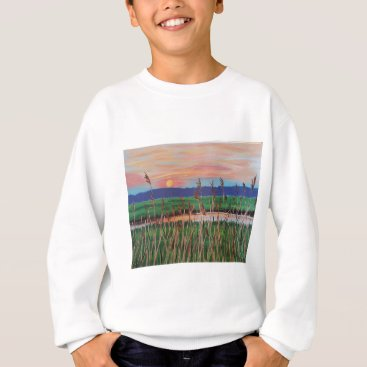 Beach Themed Marsh View Sweatshirt