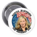 Marsha Blackburn para el presidente Pin Redondo 7 Cm