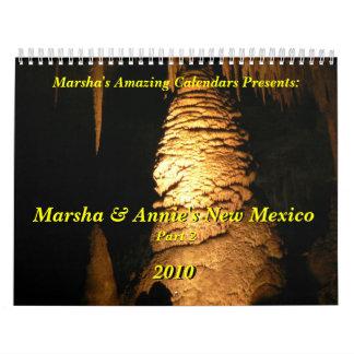 Marsha y New México de Annie (parte 2) Calendario De Pared