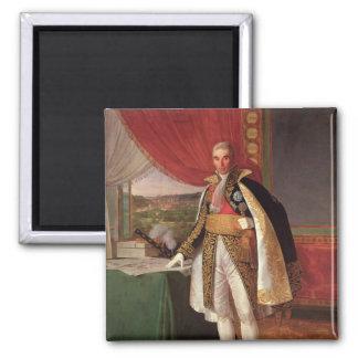 Marshal Andre Massena  Duke of Rivoli, 1814 Magnet