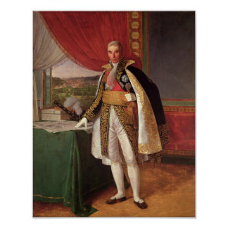 Marshal Andre Massena  Duke of Rivoli, 1814 Poster