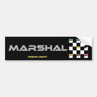 Marshal Bumper Stickers