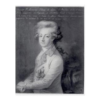 Marshal Charles-Joseph  Prince de Ligne Postcard