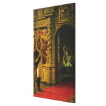 Marshal Davout in the Chudov Monastery Canvas Prints