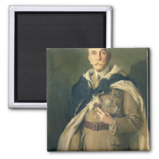 Marshal Louis Hubert Gonzalve Lyautey  1929 2 Inch Square Magnet