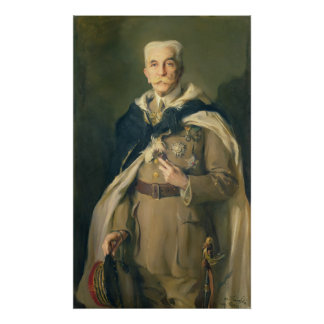 Marshal Louis Hubert Gonzalve Lyautey  1929 Poster