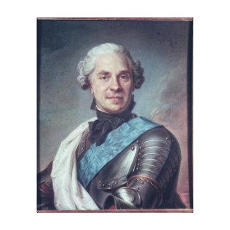 Marshal Maurice de Saxe Canvas Print