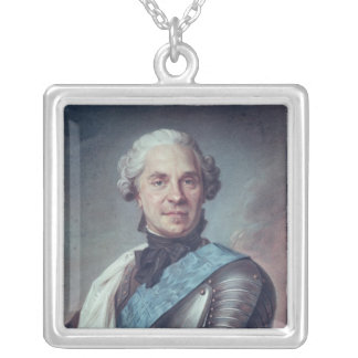 Marshal Maurice de Saxe Silver Plated Necklace