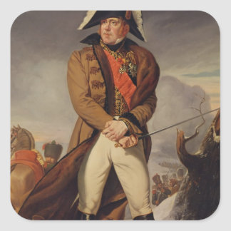 Marshal Michel Ney  Duke of Elchingen Square Sticker