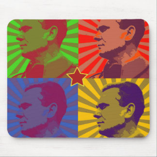 MARSHAL TITO POP ART PORTRAIT MOUSE MATS