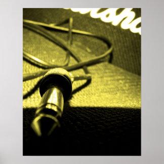 Marshall Amp/Jack Lead Poster