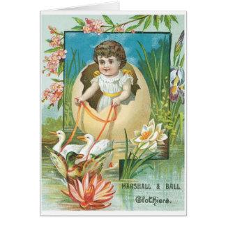 Marshall and Ball Clothiers Card
