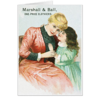 Marshall and Ball One Price Clothiers Card