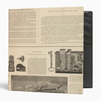 Marshall and Wendell, Manufacturers 3 Ring Binder