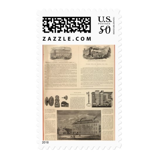 Marshall and Wendell, Manufacturers Postage