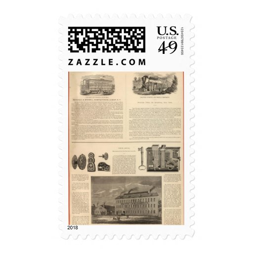 Marshall and Wendell, Manufacturers Stamp