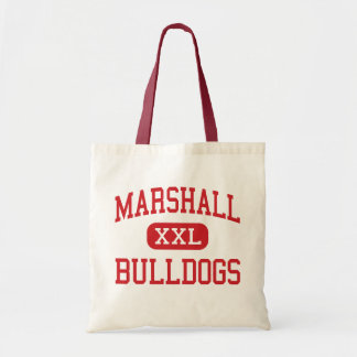 Marshall - Bulldogs - Middle - Beaumont Texas Budget Tote Bag