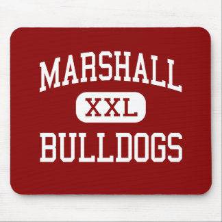 Marshall - Bulldogs - Middle - Beaumont Texas Mouse Pad