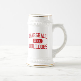 Marshall - Bulldogs - Middle - Beaumont Texas 18 Oz Beer Stein