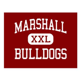Marshall - Bulldogs - Middle - Beaumont Texas Postcard