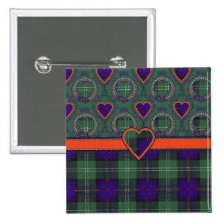 Marshall clan Plaid Scottish kilt tartan Button