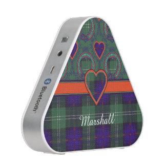 Marshall clan Plaid Scottish kilt tartan Bluetooth Speaker