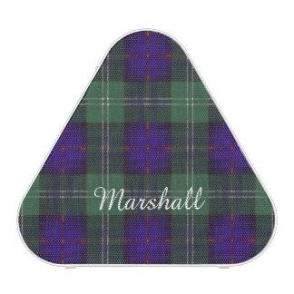Marshall clan Plaid Scottish kilt tartan Speaker