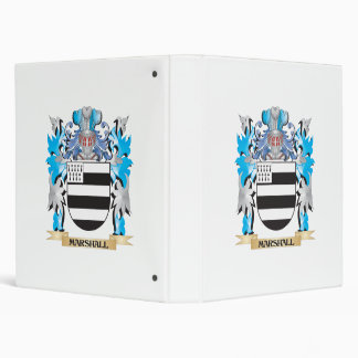 Marshall Coat of Arms - Family Crest Vinyl Binder