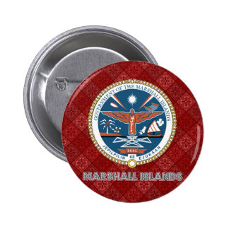 Marshall Islands Coat of Arms Pinback Button