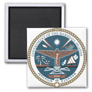 Marshall Islands Coat of Arms detail Magnet