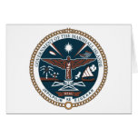 Marshall Islands Coat of Arms Greeting Card