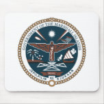 Marshall Islands Coat of Arms Mousepad