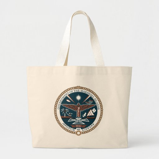 Marshall Islands Coat of Arms Tote Bag