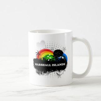 Marshall Islands con sabor a fruta lindos Tazas