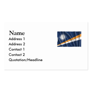 MARSHALL ISLANDS Double-Sided STANDARD BUSINESS CARDS (Pack OF 100)