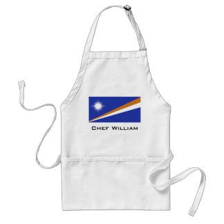 Marshall Islands Flag Adult Apron