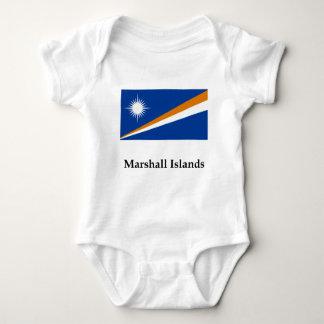Marshall Islands Flag And Name T Shirt