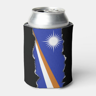 Marshall Islands Flag Can Cooler