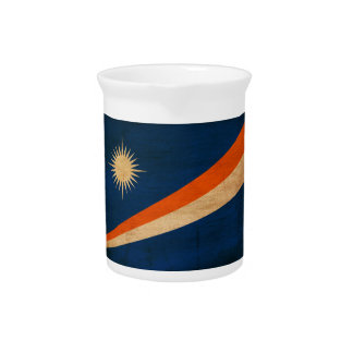 Marshall Islands Flag Drink Pitcher